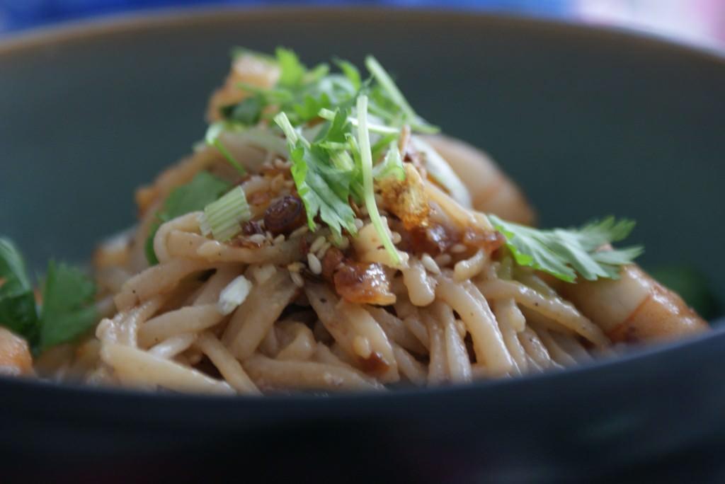Quick noodle salad