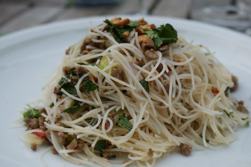 Frisse Aziatische salade