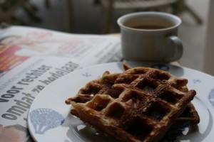 Quinoawafels als ontbijt