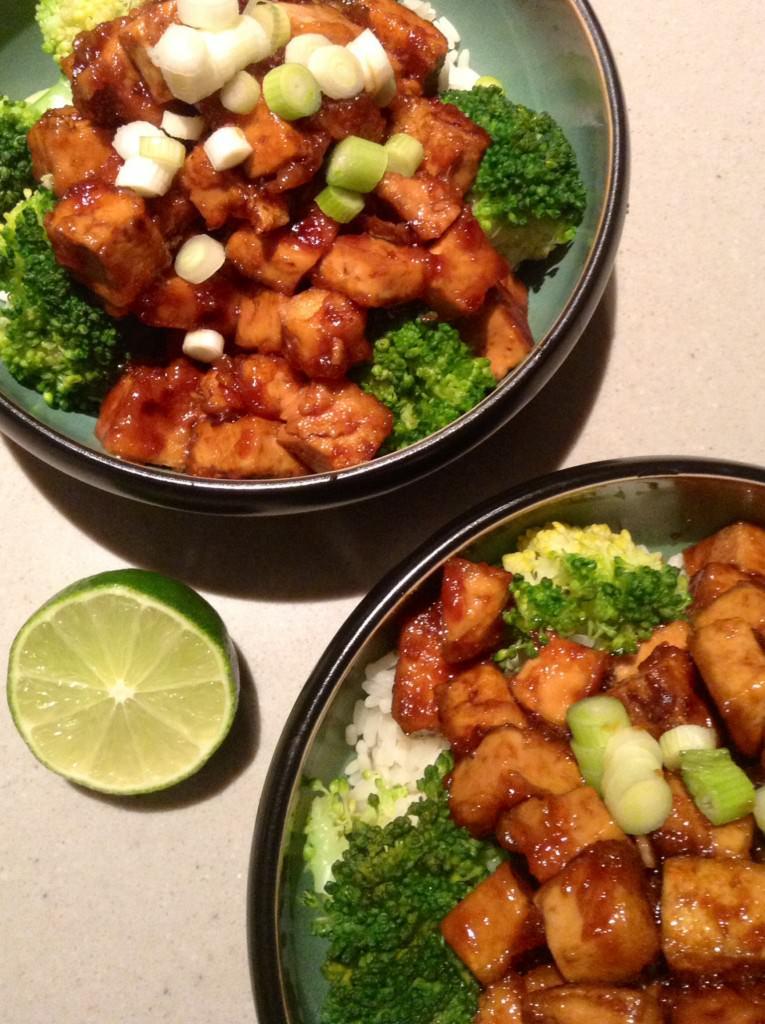 Gesmoorde Tofu