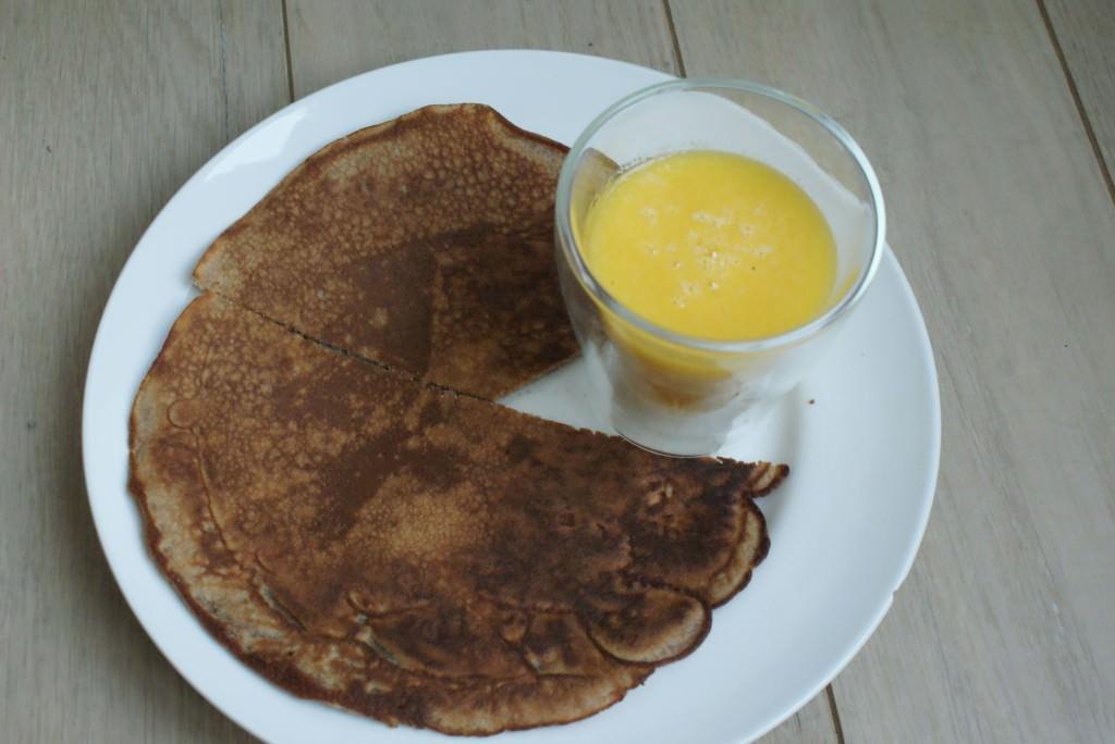 Kastanje Pancakes