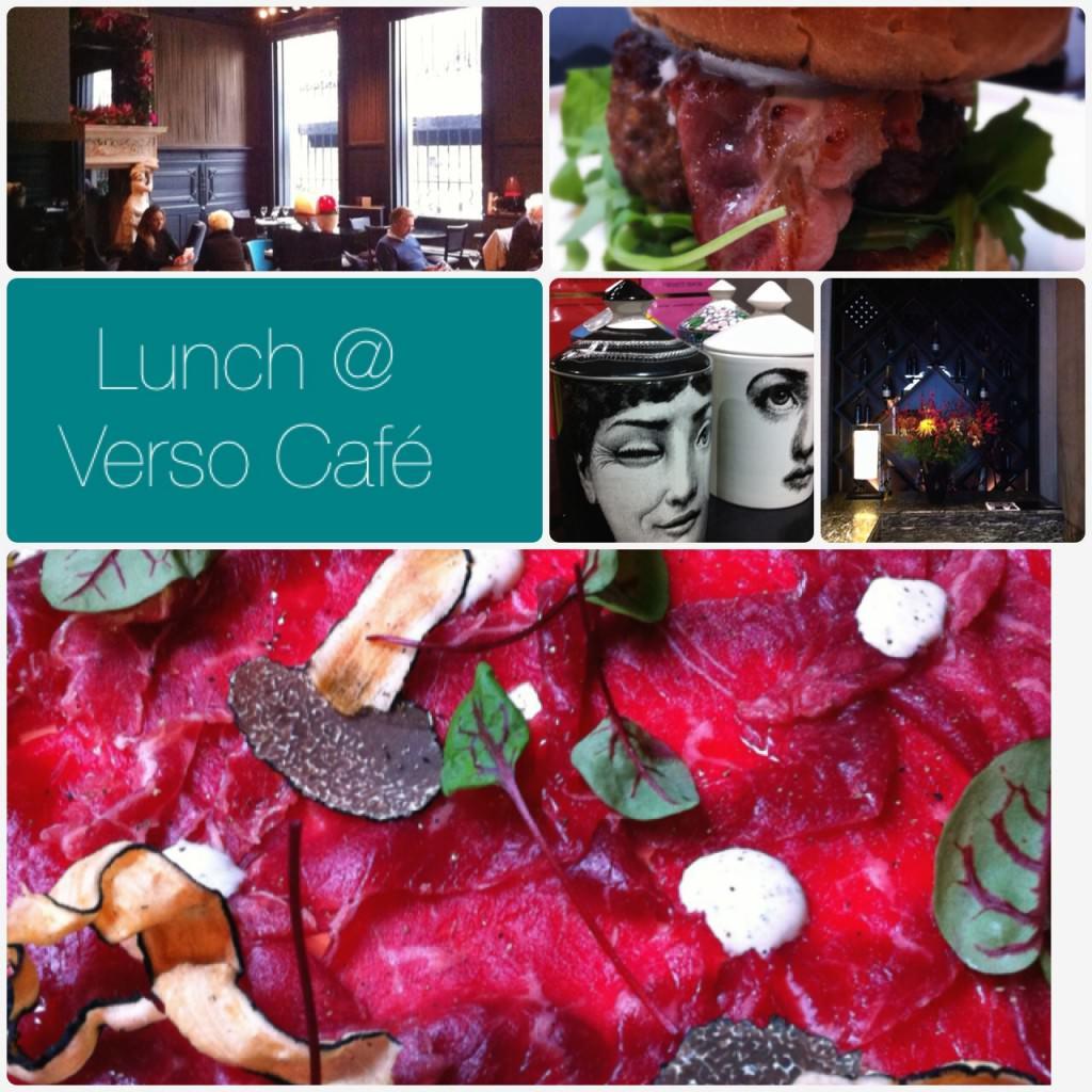 Lunch @ Verso Café