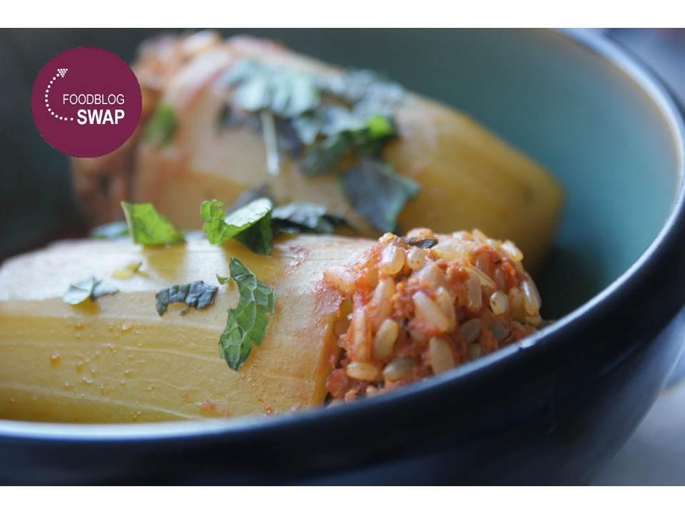 Foodblogswap: Gevulde courgettes van Mijn Mixed Kitchen