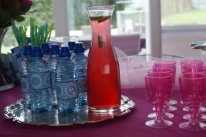 Pink Lemonade & Frozen Water