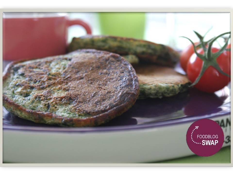 Foodblogswap mei: spinaziepannenkoekjes