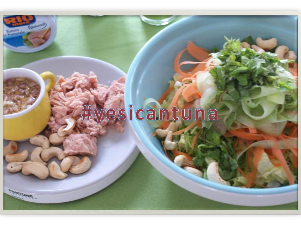 #yesicantuna: Aziatische salade met tonijn