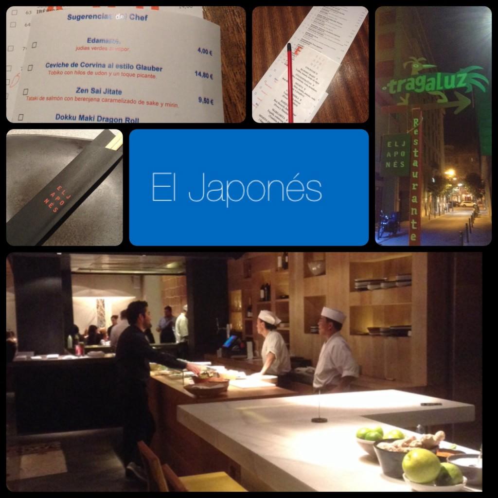 El Japonés – lekker restaurantje in Barcelona