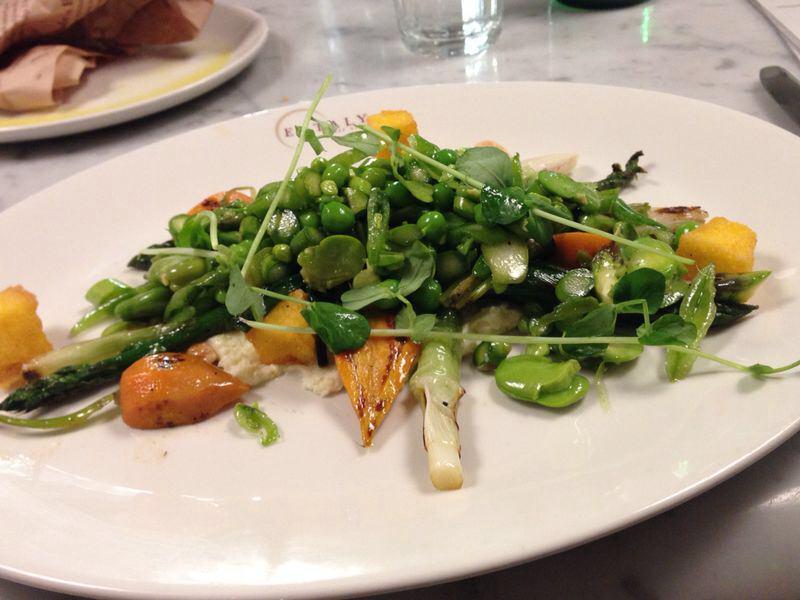 Heerlijke veggie lunch