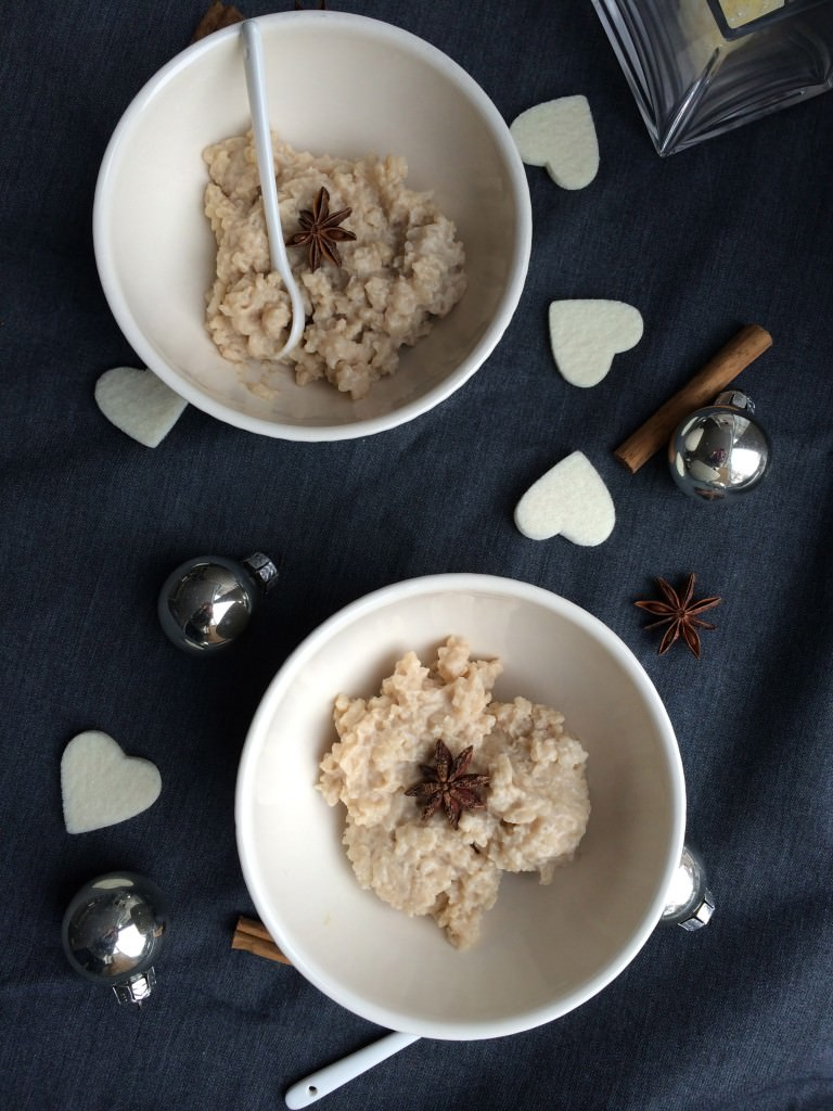 Heavenly rice pudding