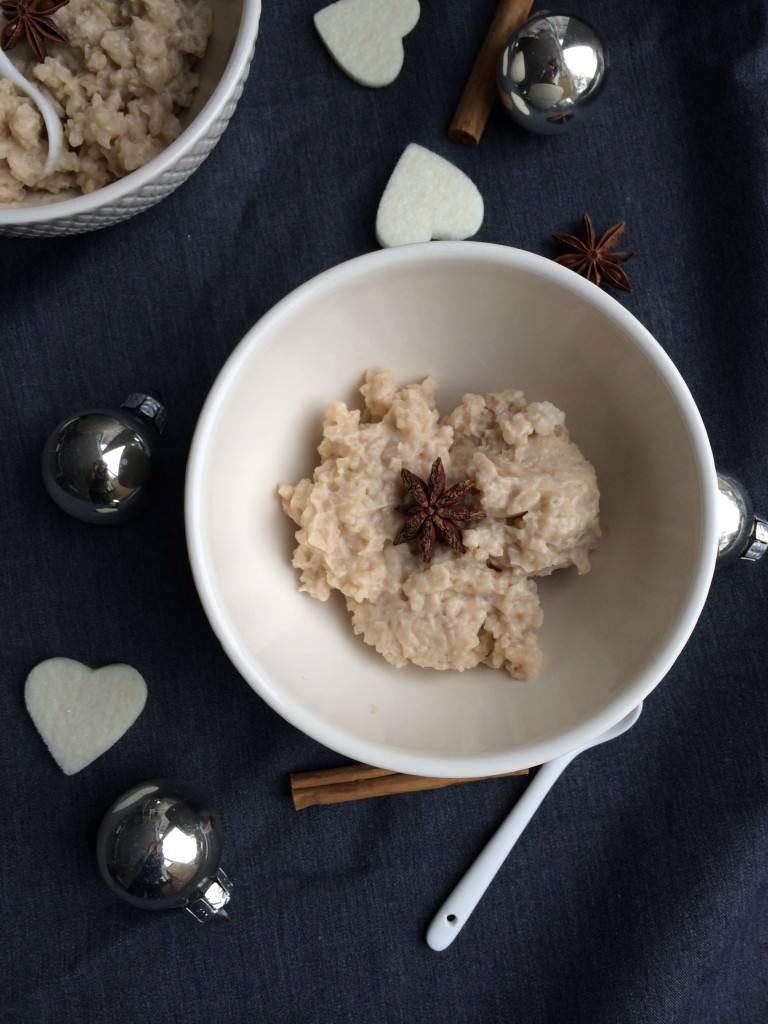 Perfect for the Holiday Season- rice pudding-mustbeyummie-gluten free-dairy free