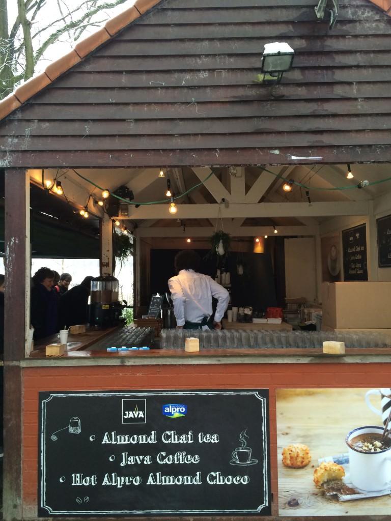 The Alpro latte bar