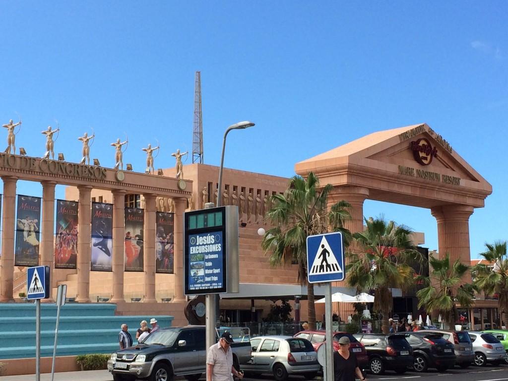 Cleopatra Palace and the Hard Rock Café