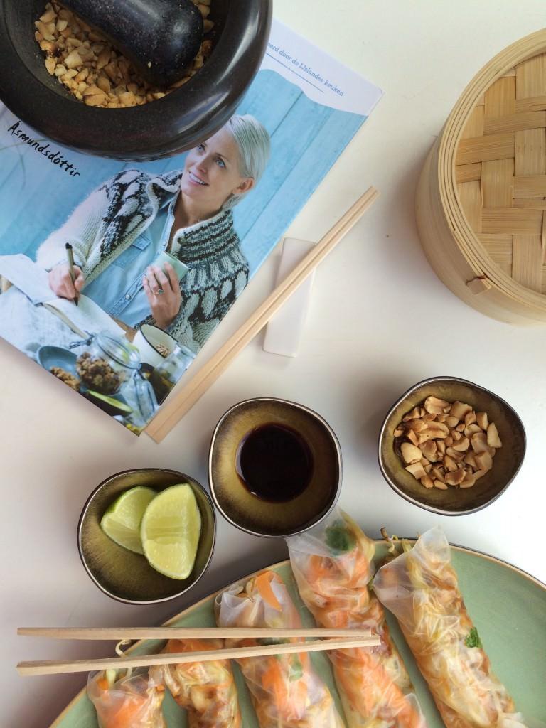 Easy Spring Rolls – a Dagny Ros recipe