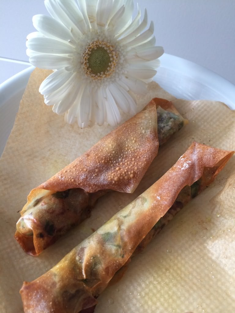 Great filo Spring rolls from the Airfryer