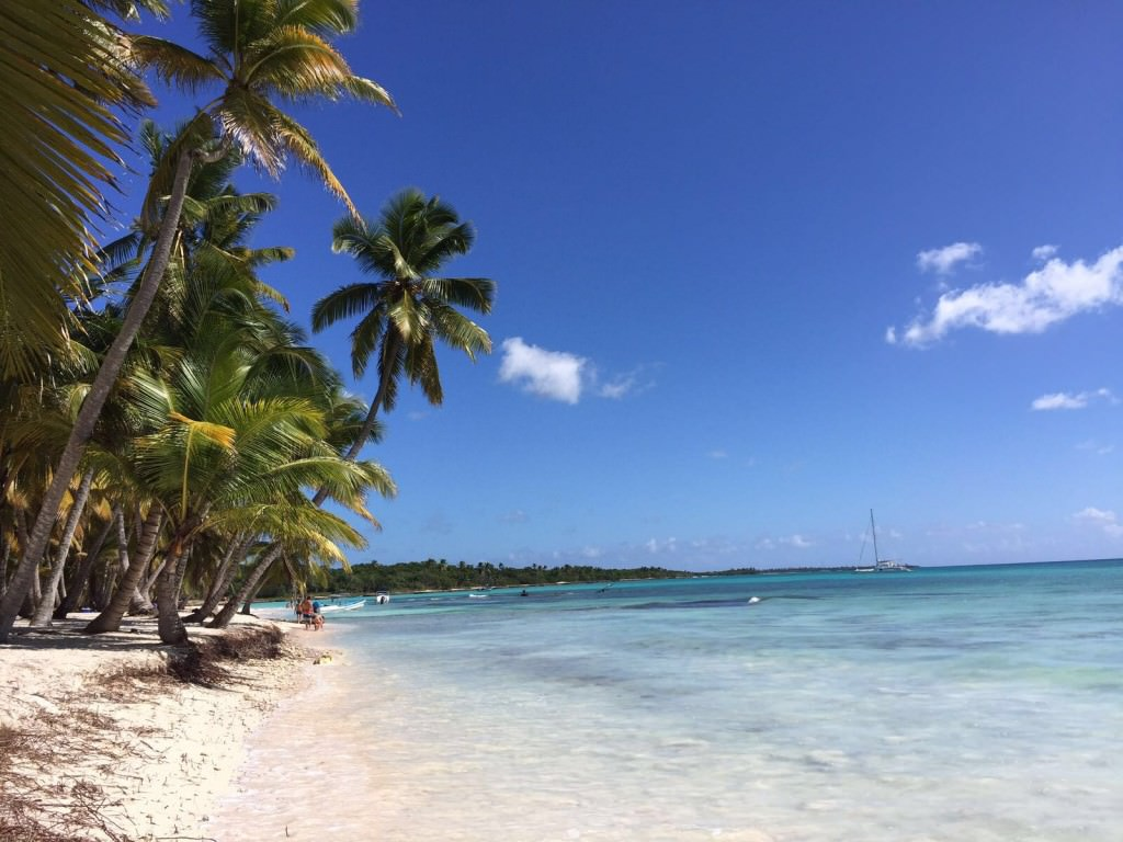 Tropical Beaches at Saona Island