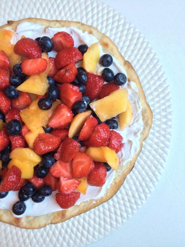 Heerlijke Fruit Pizza