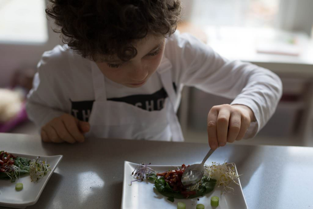 Little Chef: Jérôme's salade met spek