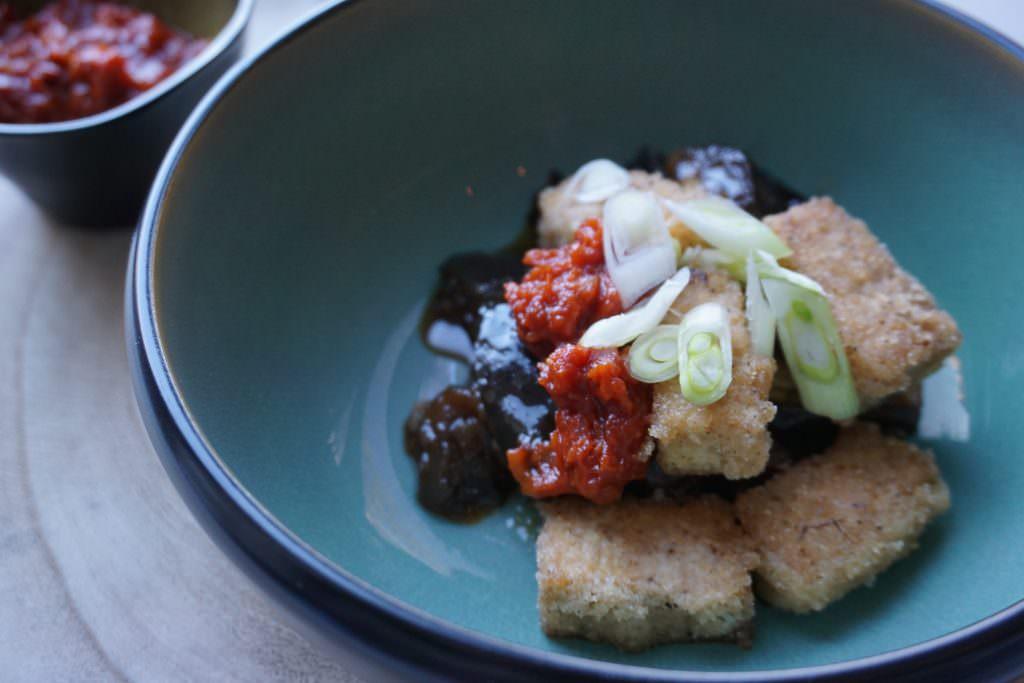 Yummie Vegan: Nopi's aubergine met tofu