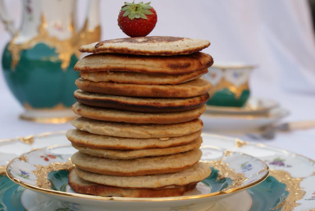 Pancakes met banaan