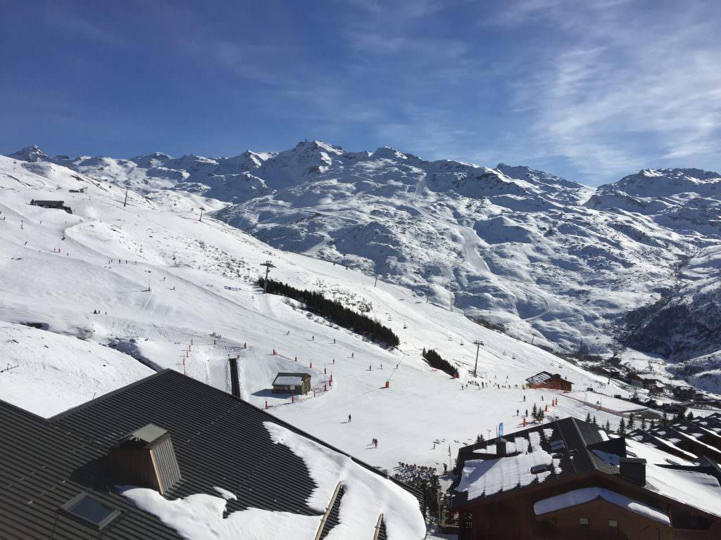 Les Menuires – relaxte skivakantie