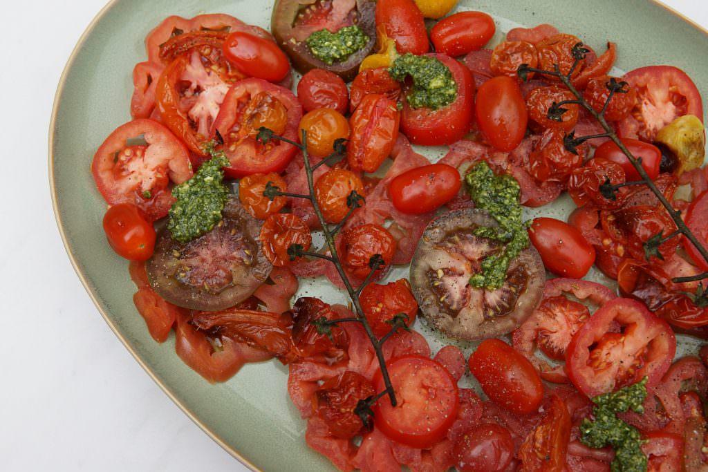 Geroosterde Tomatensalade