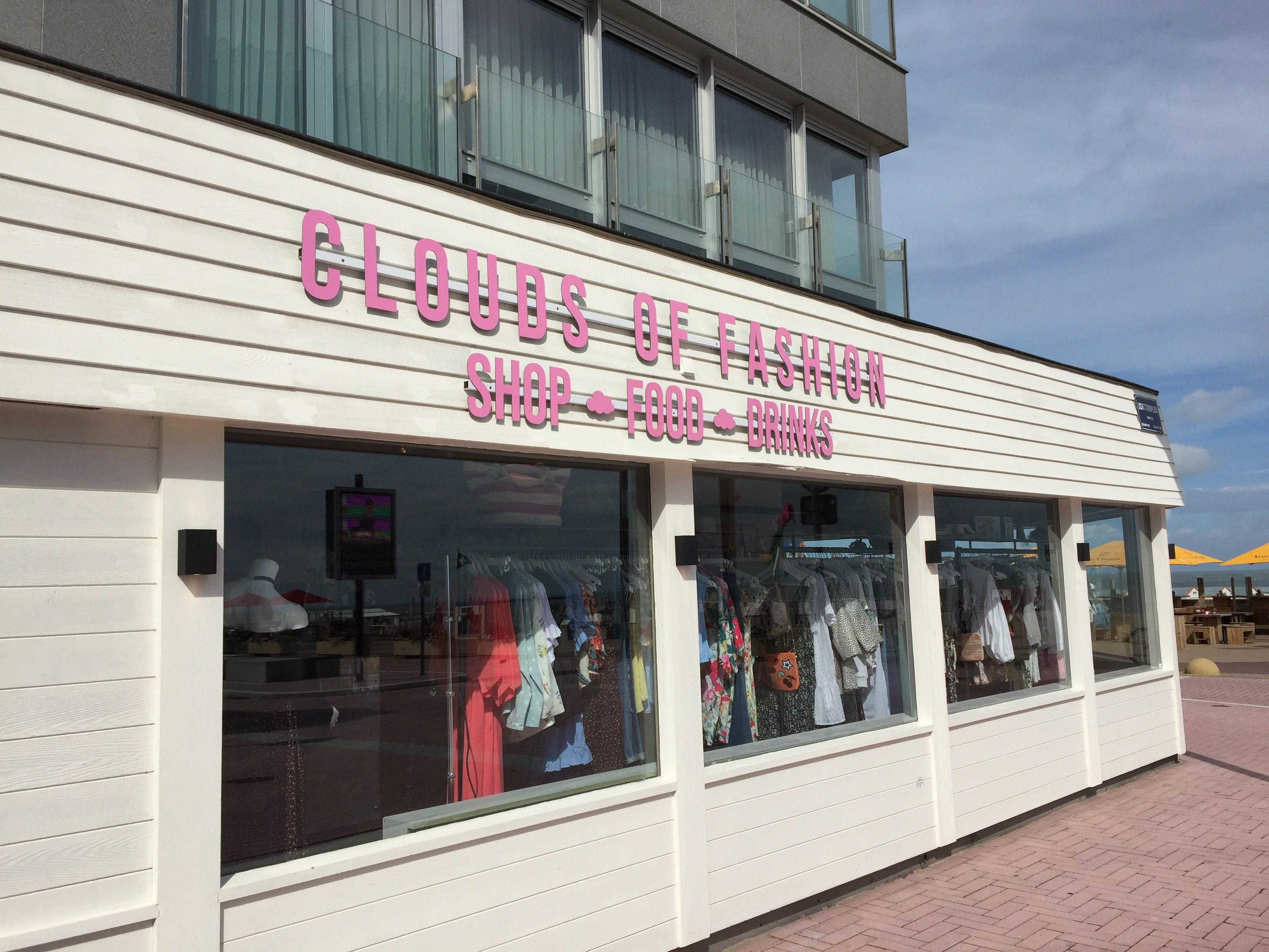 Knokke clouds of Fashion