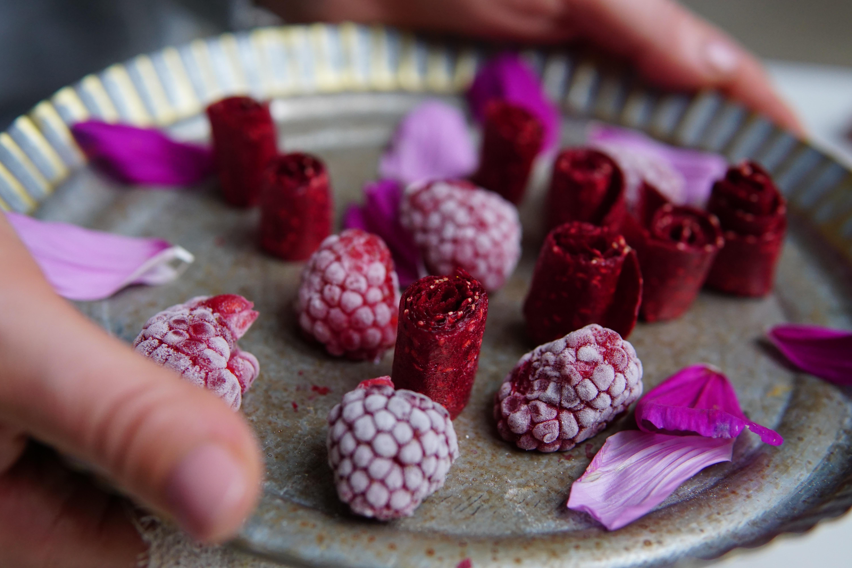 roze snoepjes