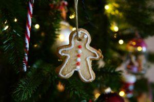 koekjes voor in de kerstboom