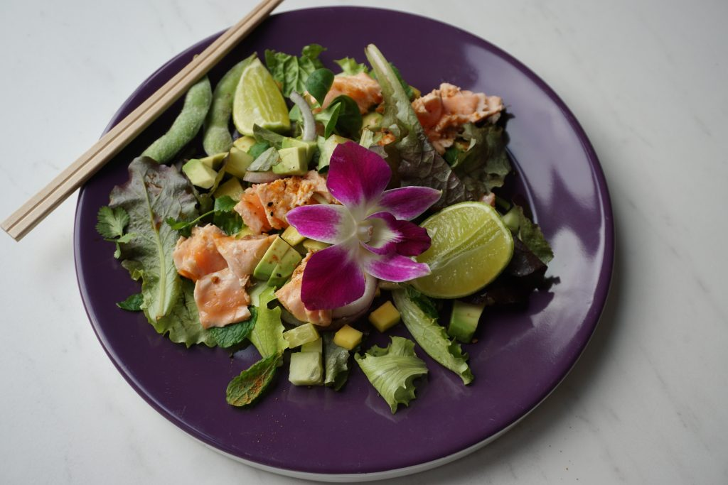 Thai Salmon Salade