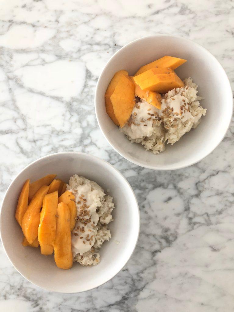 Mango met sticky rice – mijn favoriet dessertje