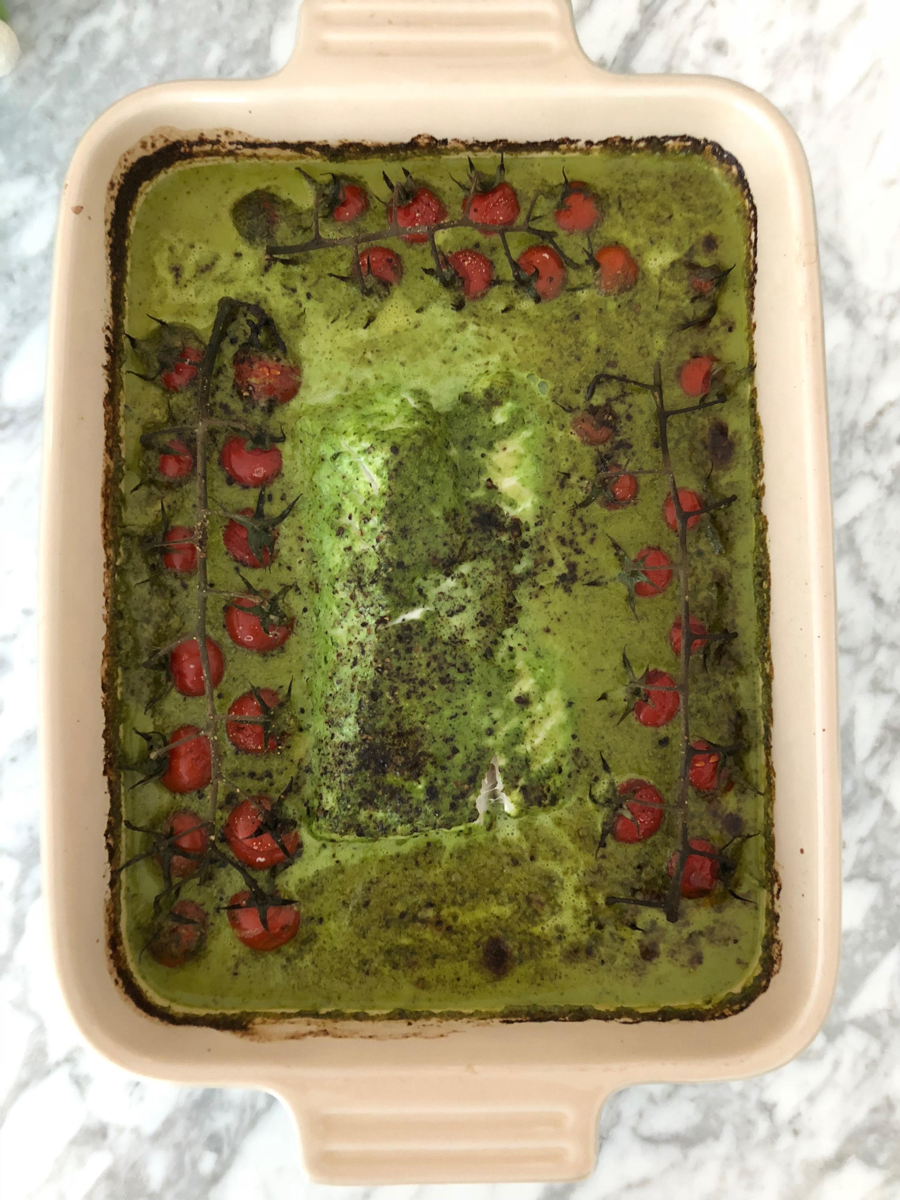 kabeljauw in 't groen