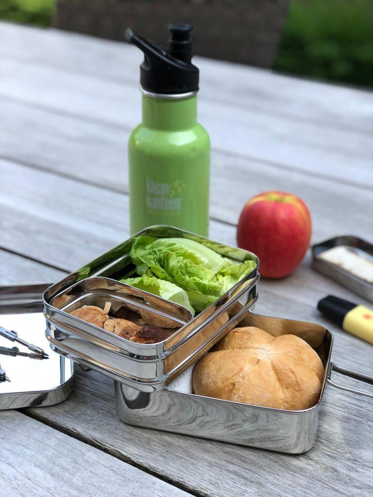 Allergievriendelijke lunchbox + zoete aardappelfritters