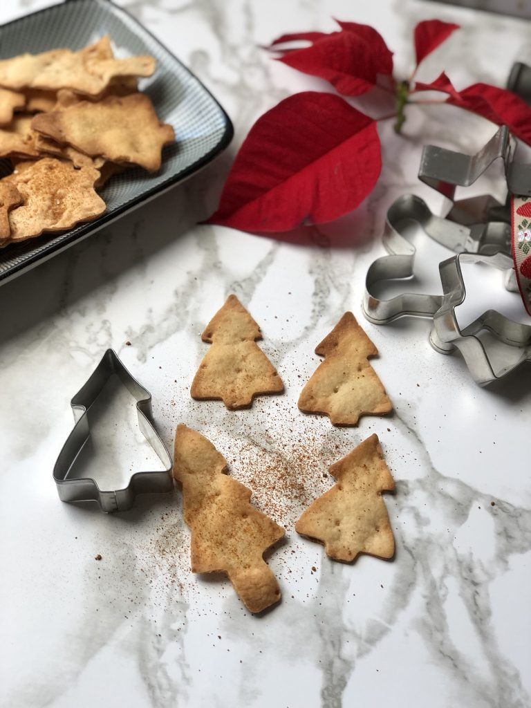 Home made chips voor kerstmis