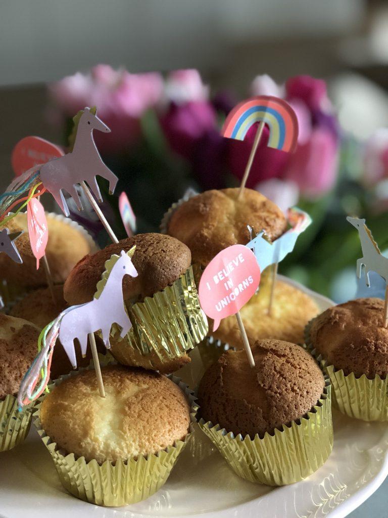 Luchtige cupcakes