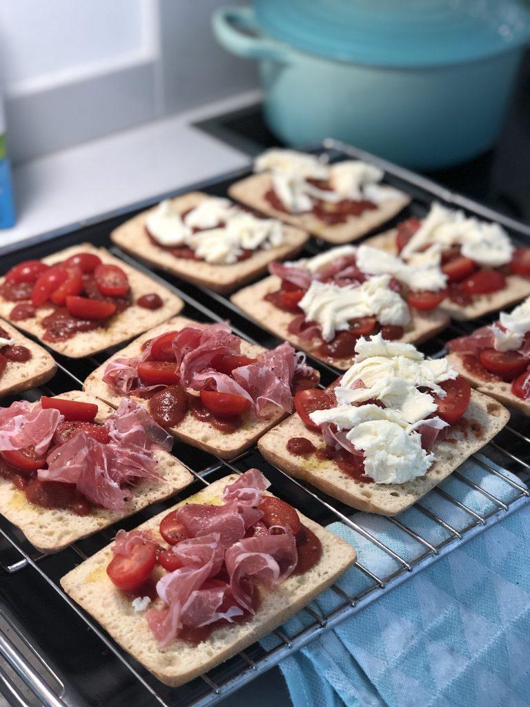 Pizzabaguette – snelle lunch