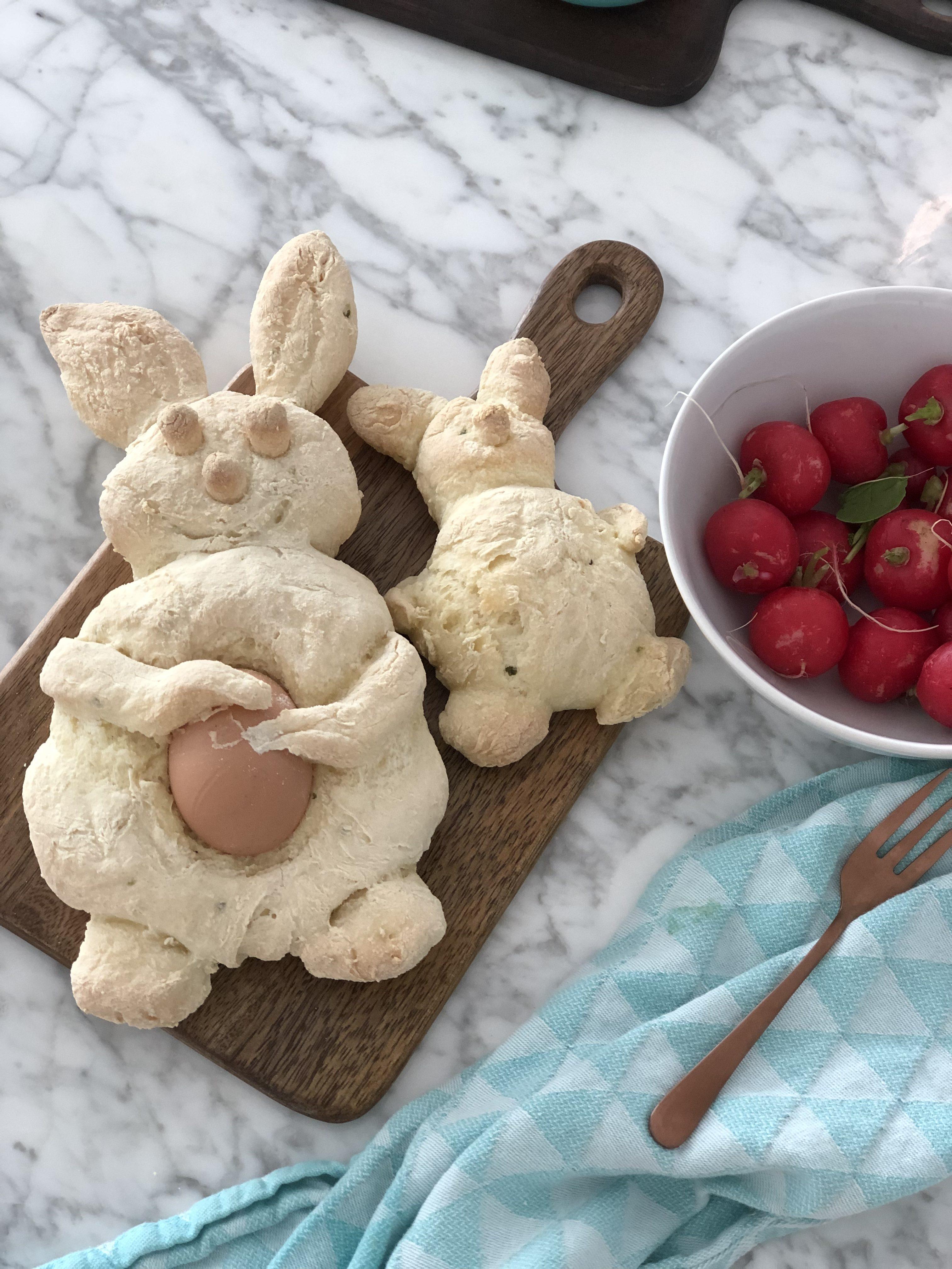 glutenvrije pistolets voor Pasen