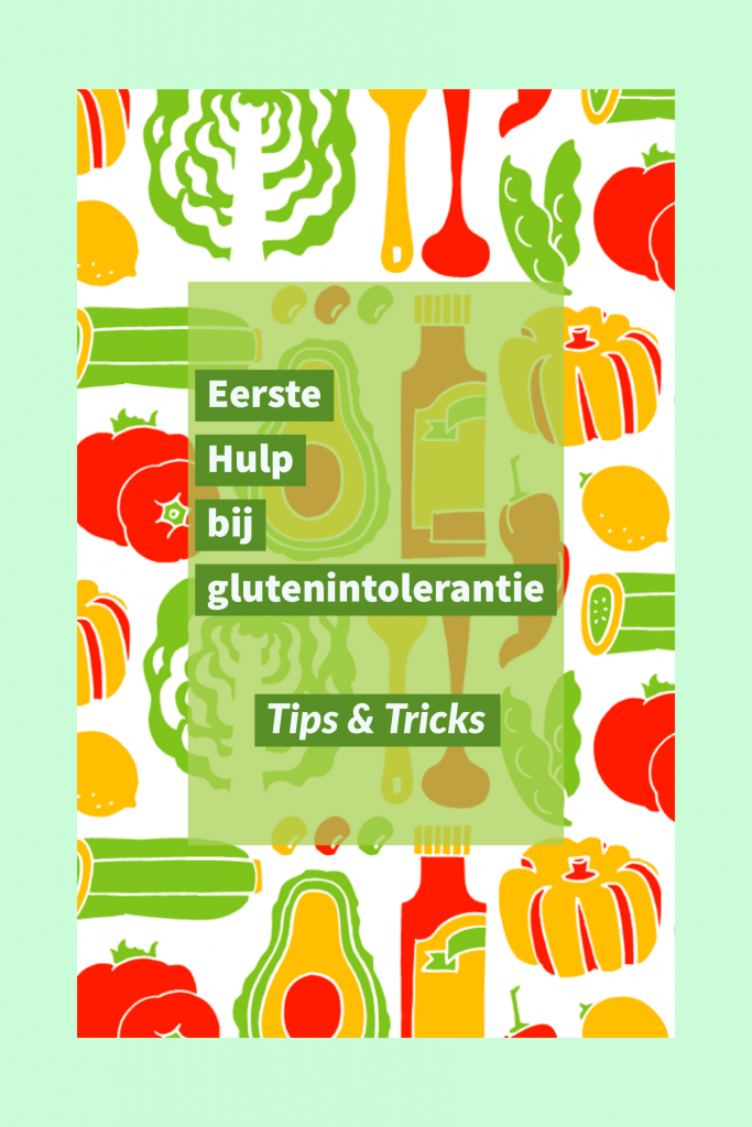 Eerste hulp bij glutensensitiviteit of -intolerantie