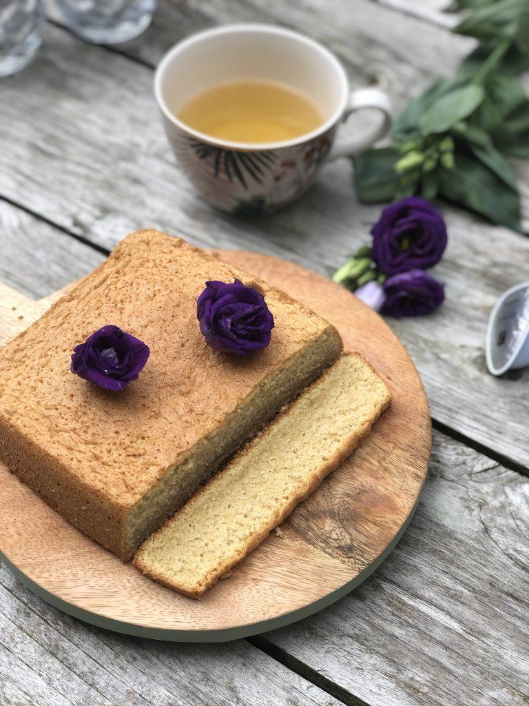 Smeuïge cake met een vleugje thee