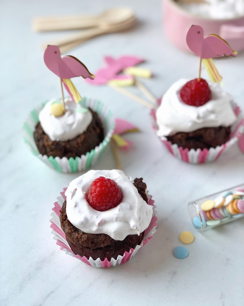 Smeuïge chocolade cupcakes