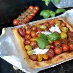 tomatentaart caprese - Schär glutenvrije plaattaart