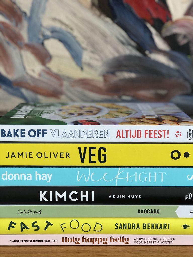 Kookboeken voor onder de kerstboom