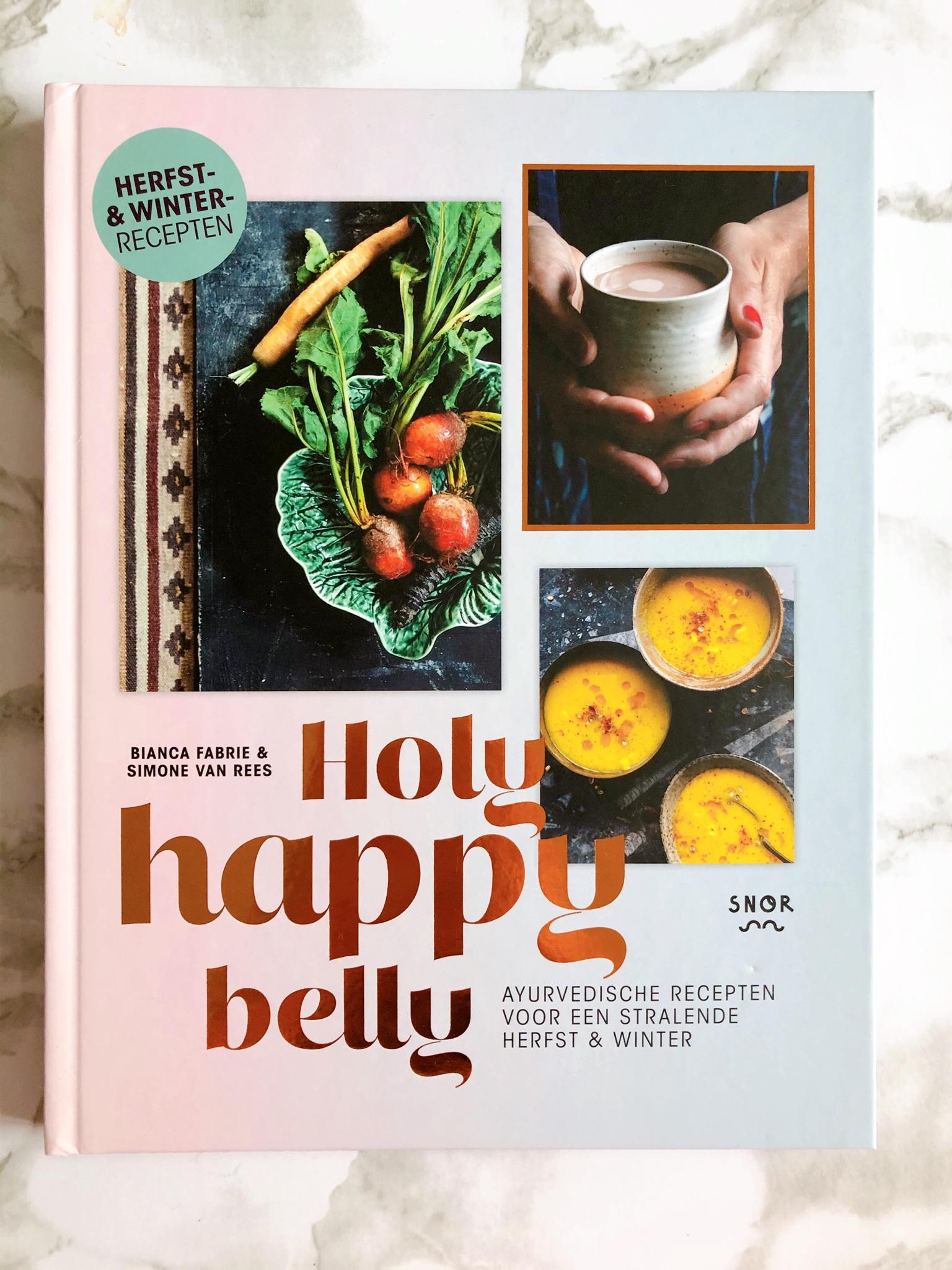 kookboeken met kerst - Holy Happy Belly