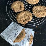 giant glutenvrij chocolate chip cookie