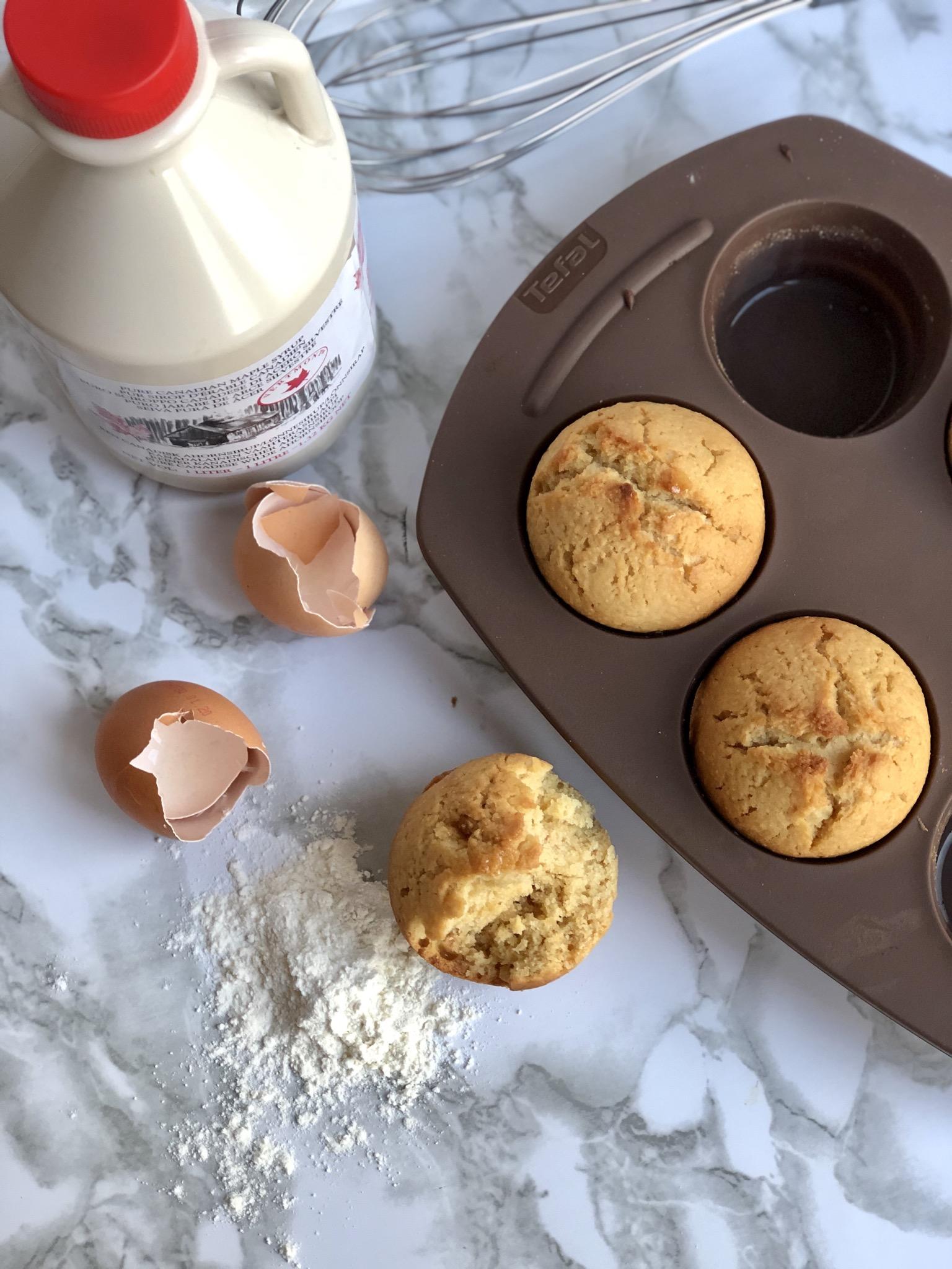 maple muffins glutenvrij Sarabeths
