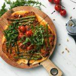 glutenvrije pizza met mascarpone