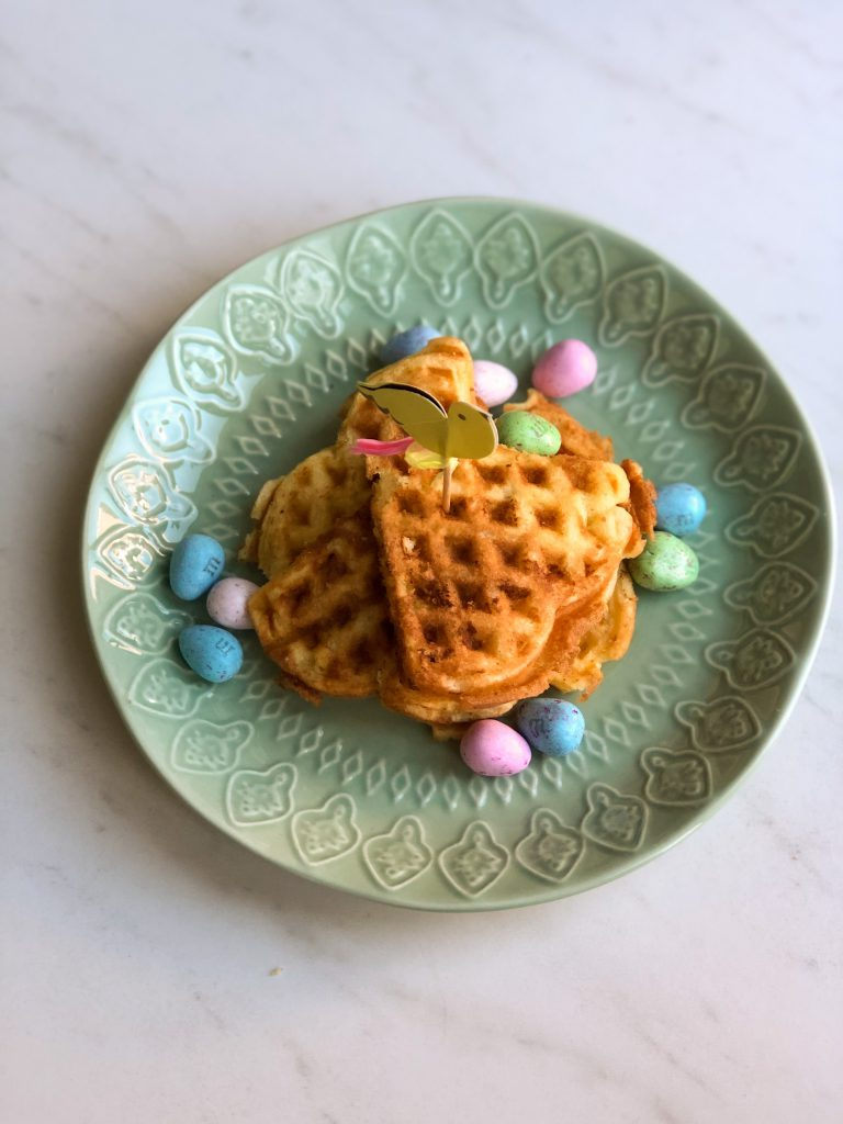 Easy cake wafeltjes