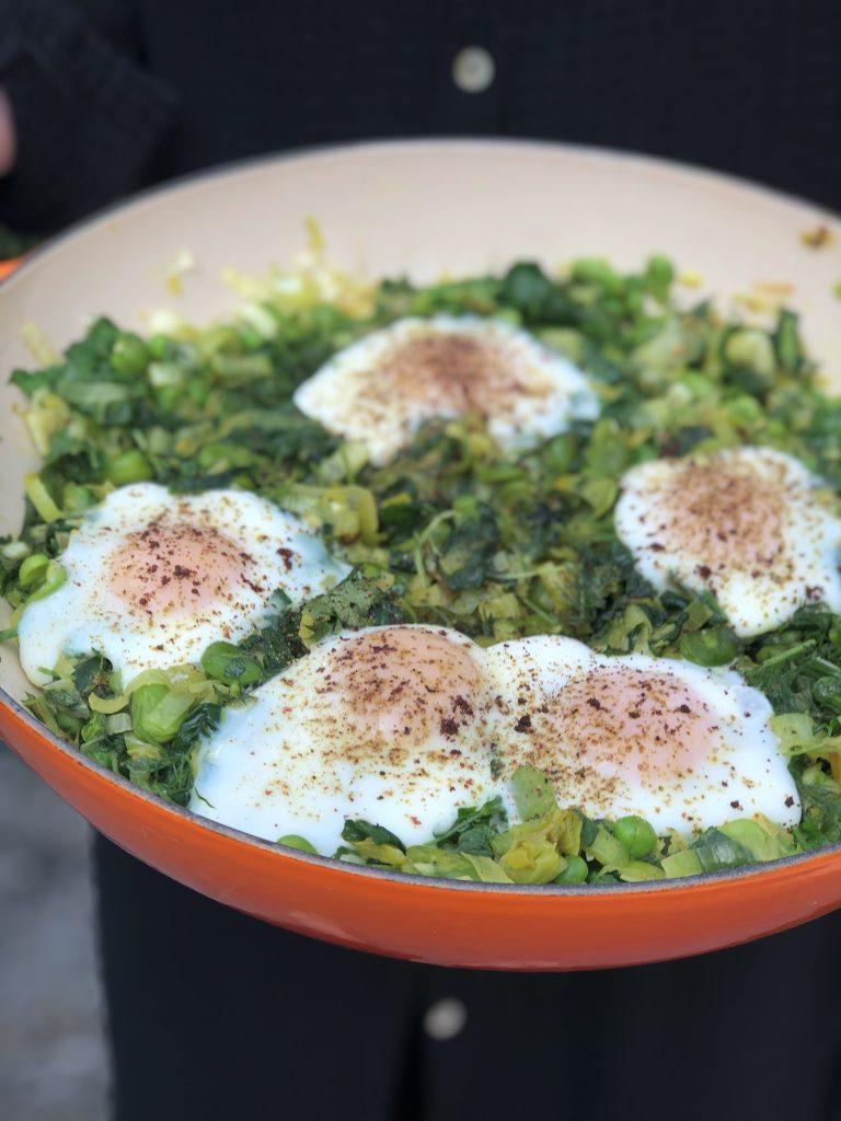 Perzische eieren of baghala ghatogh
