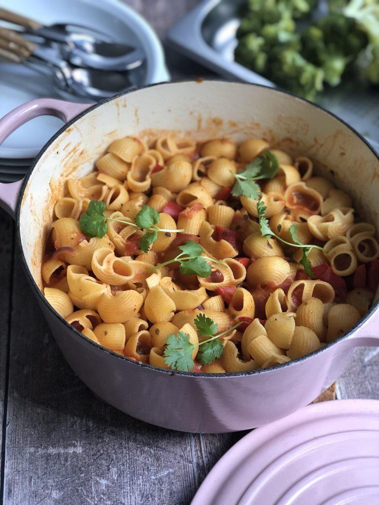 one pot glutenfree pasta