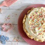glutenvrije en lactosevrije laagjescake met mascarpone en vanille