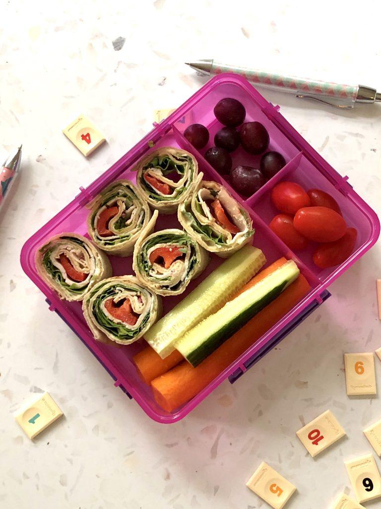 lunchbox met glutenvrije wrap